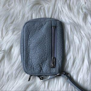Alexander Wang Dumbo wallet in blue New
